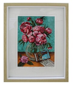 Angie Dennis - Framed Print - Guests Are Like Fish