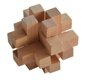 Bamboo Puzzle - 3D Star Cube