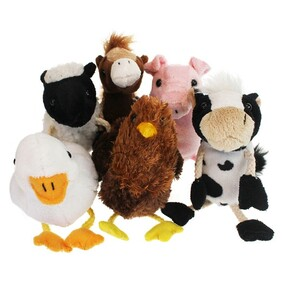 Finger Puppets - Farm Animals   (8 styles available)