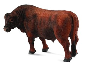 Collect A - Red Angus Bull