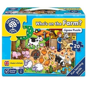Orchard Toys - Who's On The Farm?