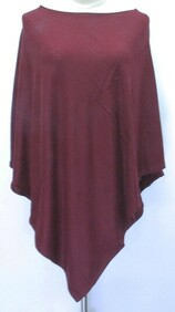 Poncho - Solid Colour Medium Weight