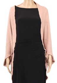 Dual Use Shrug and Scarf - Pink