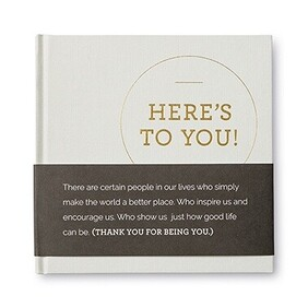 Gift Book - Here's to You