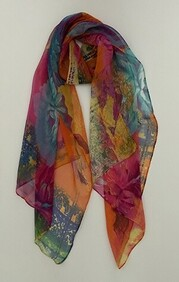 Scarf - Floral Brights