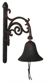 Cast Iron Door Bell (with curve)