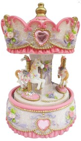 Musical Carousel / Pink and Cream