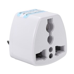 Travel Adapter - Round to Flat Earth Pin