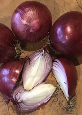 Onions - Red - 1 kg