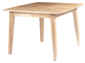 ARCO 800 SQUARE FIXED TOP TABLE - BARK ASH