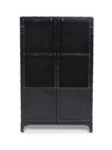 IRON AND MESH CABINET