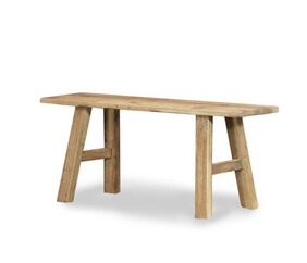 NATURAL RUSTIC BENCH SEAT - SMALL