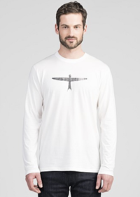 MENS PROJECT LONG SLEEVE - WHITE/BLACK