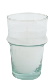 MOROCCAN GLASS CLEAR - 12CM