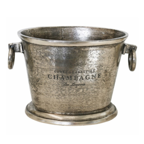 CHAMPAGNE BUCKET OVAL IN NICKEL FINISH