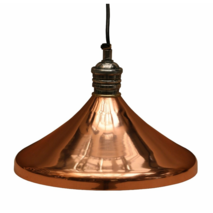 HANGING LIGHT IN COPPER FINISH