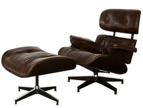ASTOR CHAIR AND FOOTSTOOL