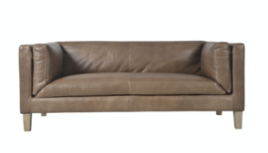 HALO SPENCER 2 SEATER SOFA - HAND TIPPED TAUPE