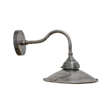 WALL LAMP WITH PEWTER STYLE FINISH
