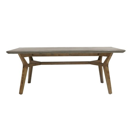 ARTWOOD TONGA OUTDOOR CONCRETE DINING TABLE