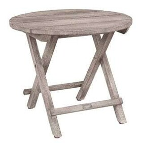 ARTWOOD VINTAGE OUTDOOR ROUND SIDE TABLE
