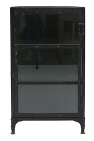 IRON AND GLASS CABINET SHORT