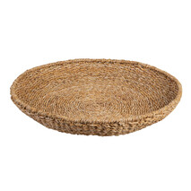SEAGRASS ROUND TRAY - NATURAL