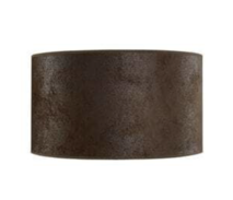 ARTWOOD CYLINDER LAMPSHADE - BROWN