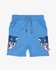 BLUE TIGER KING RELAXED SHORTS