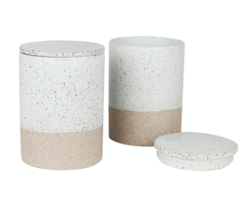 CANISTERS SET OF 2