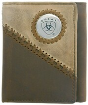 TRI-FOLD WALLET - TWO TONED
