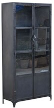 METAL AND GLASS CABINET