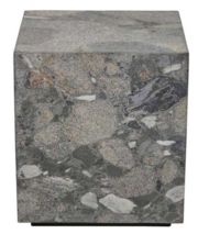 RUFUS SQUARE MARBLE SIDETABLE