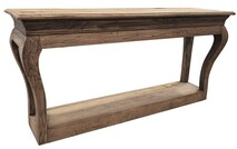 RECLAIMED ELM CONSOLE