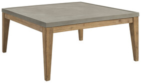 ARTWOOD DACOTA OUTDOOR CONCRETE COFFEE TABLE