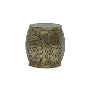 SURAT DRUM SIDE TABLE - SMALL