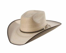 SUNBODY HAT - MEXICAN BOX TOP - FINE GOLDEN PALM