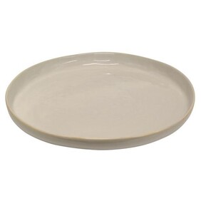 FRANCO RUSTIC WHITE X-LARGE PLATE