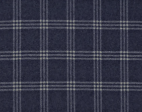 DICKENS WOOL CHECK - NAVY