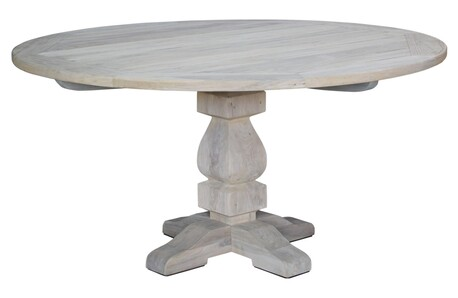 ARTWOOD FRENCH OUTDOOR ROUND DINING TABLE