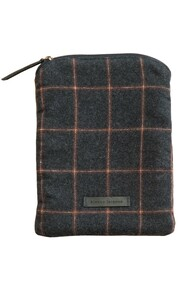 BIANCA LORENNE TABLET COVER - GRAPHITE CHECK