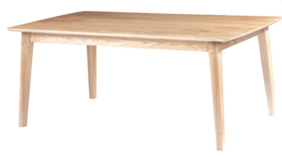 ARCO FIXED TOP TABLE - NATURAL ASH