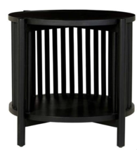 TULLY BEDSIDE TABLE - BLACK