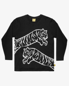 LEAPING TIGER OVERSIZED TEE