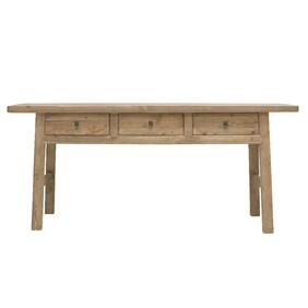 PEASANT 3 DRAWER CONSOLE