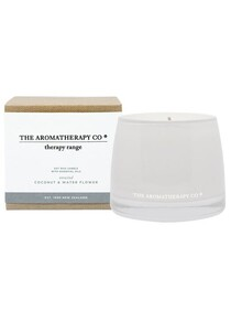 THERAPY CANDLE UNWIND - COCONUT & WATERFLOWER
