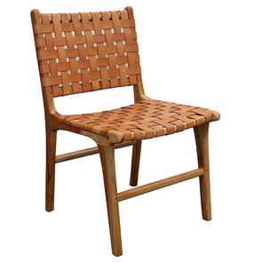 NORWICH DINING CHAIR - TAN