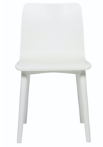 SKETCH TAMI PAINTED DINING CHAIR - WHITE
