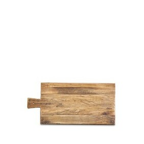 ARTISAN ELM RECTANGLE BREAD BOARD - 45cm - WITH HANDLE