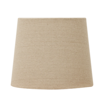 BASKET WEAVE TALL DRUM - FLAX